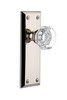 Grandeur 800019 Fifth Avenue Plate Passage with Chambord Knob in Polished Nickel