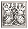 Notting Hill NHT-551-AP Autumn Squash Tile, Antique Pewter