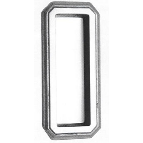Omnia 654/00.26 Octagonal Flush Pull Polished Chrome