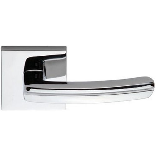 Omnia 226S/00.SD3 RH 226 Lever with Square Rose Single Dummy Satin Chrome