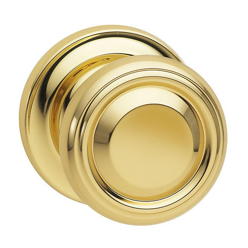 Omnia 565TD/234F.PA14 Passage 565 Knob with Traditional Rose, 2-3/4