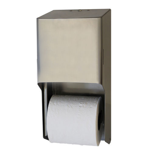 Palmer Fixture RD0325-09 Two-Roll Standard Toilet Tissue Dispenser,  Stainless Steel