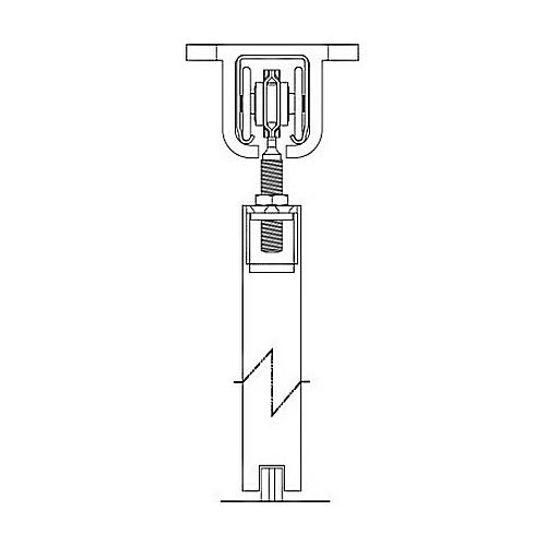 Pemko H600s Sw 12 Side Wall Mount Track 144