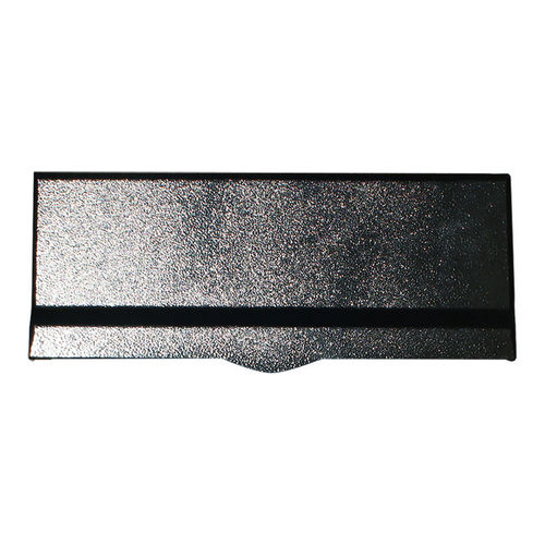 Qualarc LM6-BLK Letter Plate for Liberty Chute, Black
