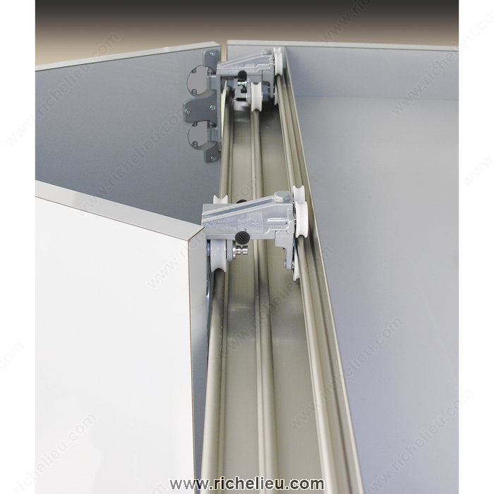 Quick View  sc 1 st  The Builders Supply & Richelieu 8911606 Folding / Sliding Door System Full Overlay PS11 ...