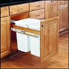 Richelieu 4WCTM21DM2 Double Top-Mounting Pull-Out Waste Container