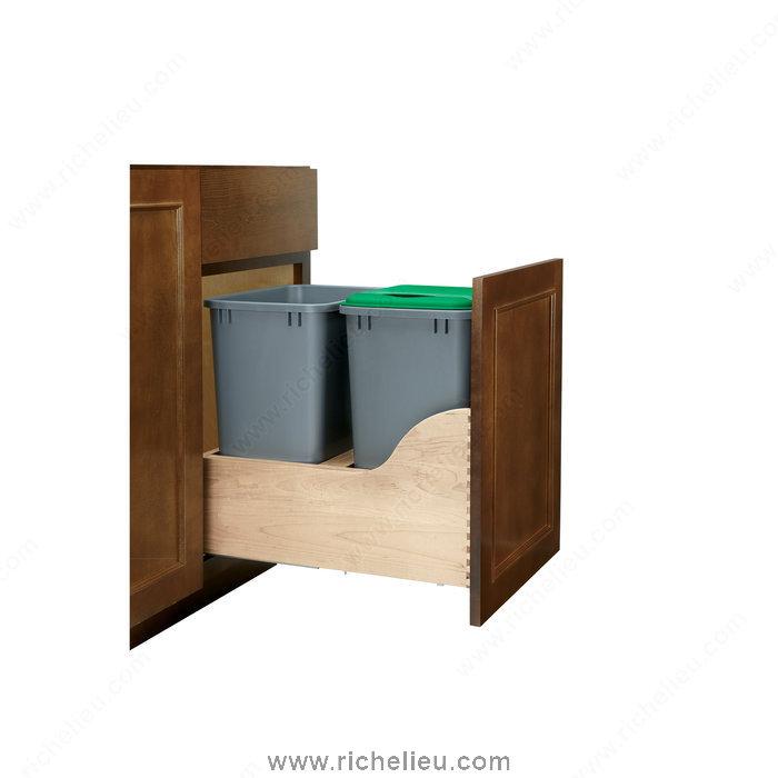 Richelieu 4WCSC2150DM2 Double Recycling Center | TheBuildersSupply.com