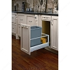 Richelieu 51491550DM117 Single Pull-Out Reycling Center