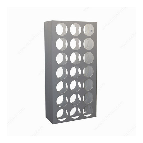 Richelieu CWVM21BA-W Wall-Mounted Wine Rack