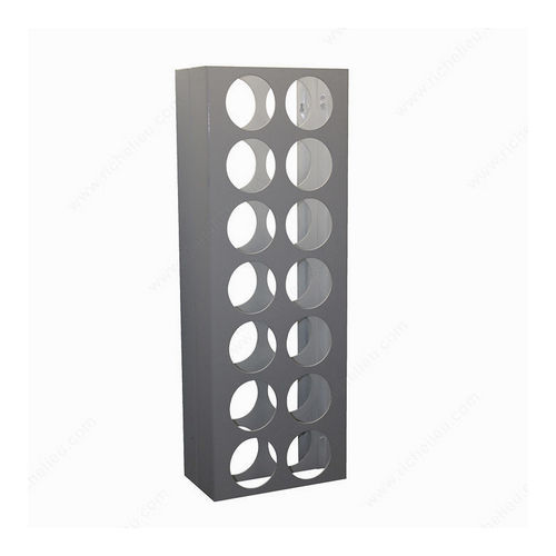 Richelieu CWVM14BA-W Wall-Mounted Wine Rack