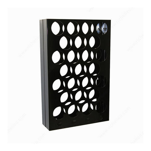 Richelieu CWVM29BA-B Wall-Mounted Wine Rack