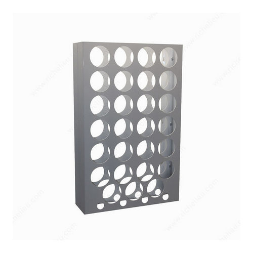 Richelieu CWVM31BA-W Wall-Mounted Wine Rack