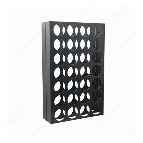 Richelieu CWVM28BA-A Wall-Mounted Wine Rack