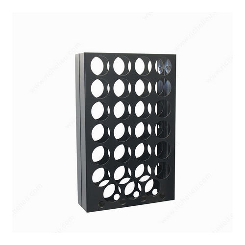 Richelieu CWVM31BA-A Wall-Mounted Wine Rack