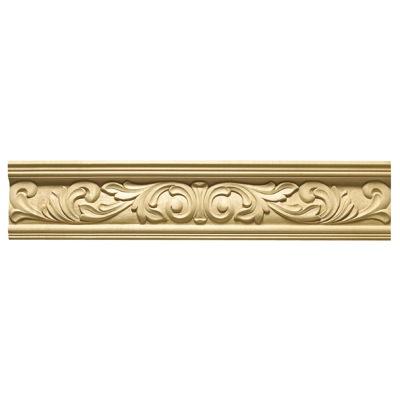Richelieu K1605651508 Hand Carved Molding with Oak Leaf and Acorn Design