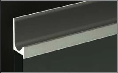 Richelieu 31881210 Handle J Shape For 5 8 Quot Panel