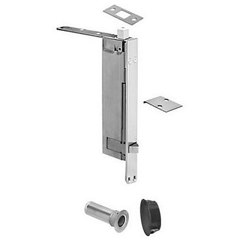 Rockwood 2948 Flush Bolt Automatic with BFB Wood Door