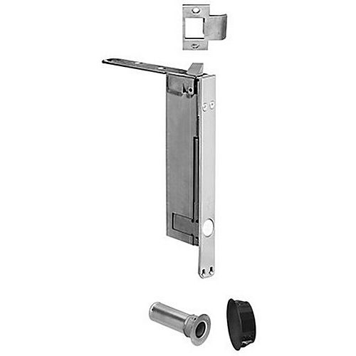 Rockwood 2949 Flush Bolt Self Latching with BFB Wood Door