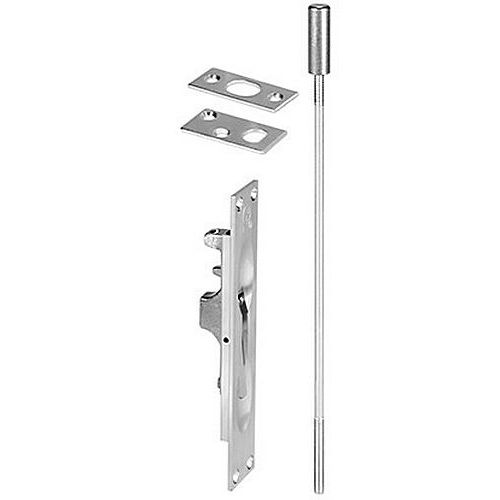 Rockwood 550 Flush Bolt for Wood Door 1-1/4