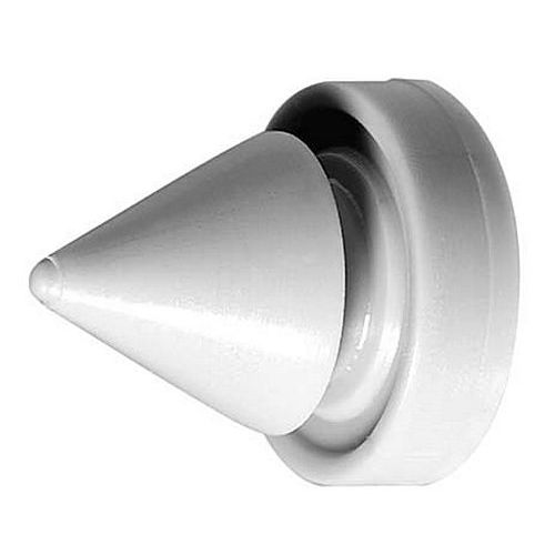 Rockwood 608 Door Silencer for Metal Door Gray Rubber
