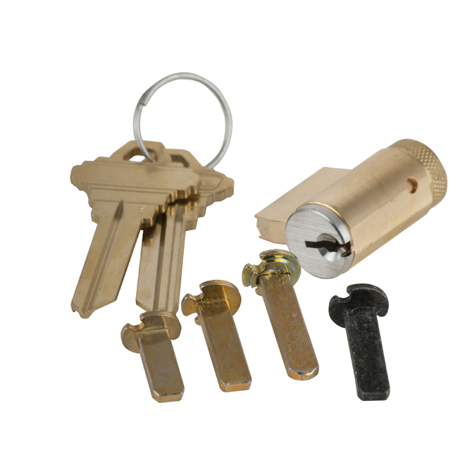 Schlage 40 100 E Cylinder 0 Bitted Multiple Tails Satin