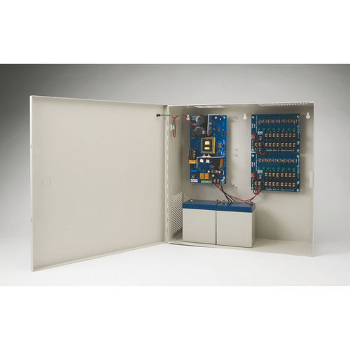Securitron AQD6-16C Power Supply 6A, 12/24 VDC, 16 PTC Outputs
