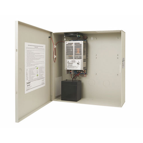 Securitron AQU128 Power Supply 8A, 12 VDC, Supervised in Enclosure