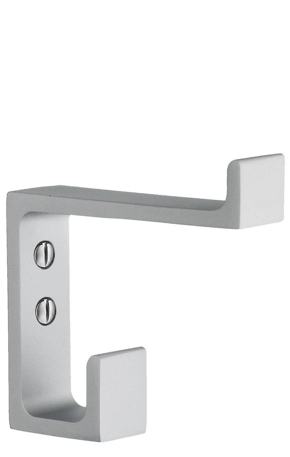 smedbo b coat hook matt aluminum  thebuilderssupplycom - quick view