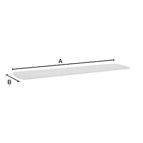 Smedbo L350 Spare Frosted Glass Shelf 24