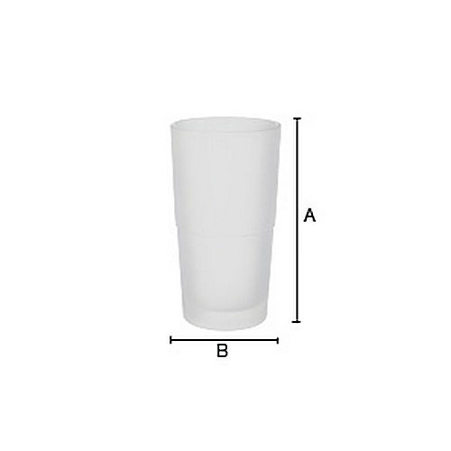 Smedbo N334 Glass Container For Toilet Brush