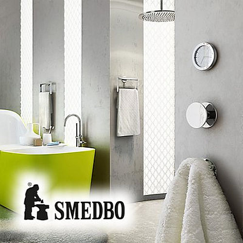 Smedbo BC1090S Single Hook Selfadhesive, Brushed Copper