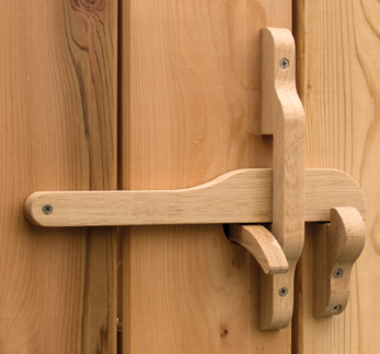 Snug cottage 4701 110 oxford oak latch with thru wooden - Old fashioned interior door locks ...