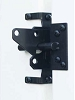 Snug Cottage 8200-BPSS Black Auto Locking Latch for PVC