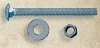 Snug Cottage FP-CB535 HDG Carriage Bolt, Nut, & Washer 3-1/2