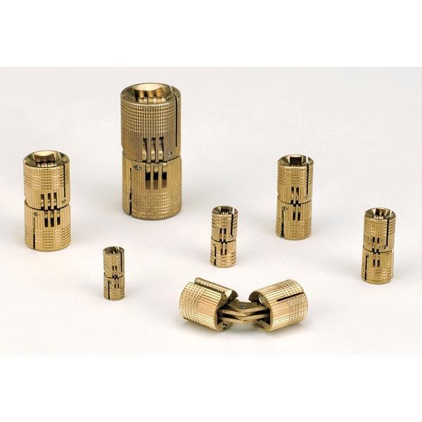 Soss Bh144 Barrel Hinges Solid Brass Thebuilderssupply Com