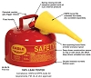 Strike First Ul-20 Flammable Storage Can, Type I Safety Can
