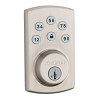 Kwikset Cp 907 SMT Powerbolt 2 Electric Keypad Double, Satin Nickel