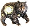 Waterwood DBZ-068 Bear Without Fish Bronze Plated Poly-Resin Doorbells