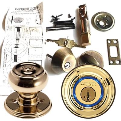Weiser Gd9471 Ws Keyway K3 Rlr2 Single Cylinder Deadbolt