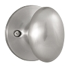 Weslock 205 Braden Dummy, Satin Nickel