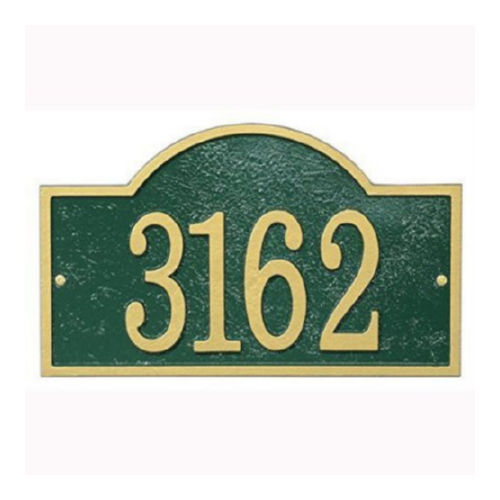 Whitehall FEA1GG Fast & Easy Arch House Numbers Plaque