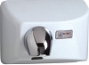World Dryer 041200000 Nova 4 Surface Mount Automatic Dryer, Cast Iron, White