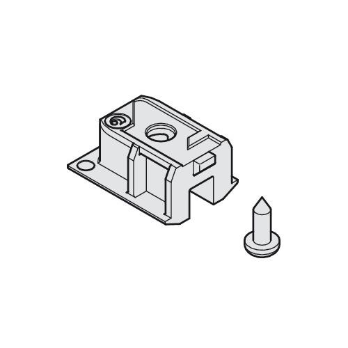 Hafele 405.00.072 Service Port for Upper Track, Plastic
