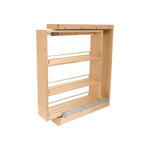 Hafele 545.47.243 Base Cabinet Filler Pull-Out, with Grass Elite Undermount Slides