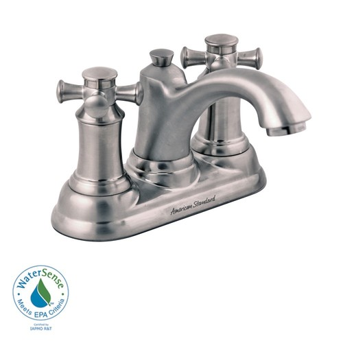 American Standard 7415.221.295 Portsmouth Centerset Bathroom Faucet Satin Nickel