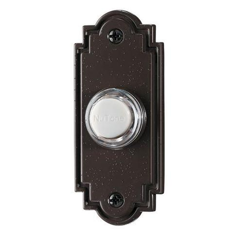 Broan NuTone PB15LPB Door Bell Chime Polished Brass