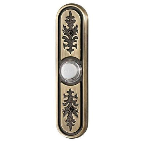 Broan NuTone PB64LAB Door Bell Chime Antique Brass