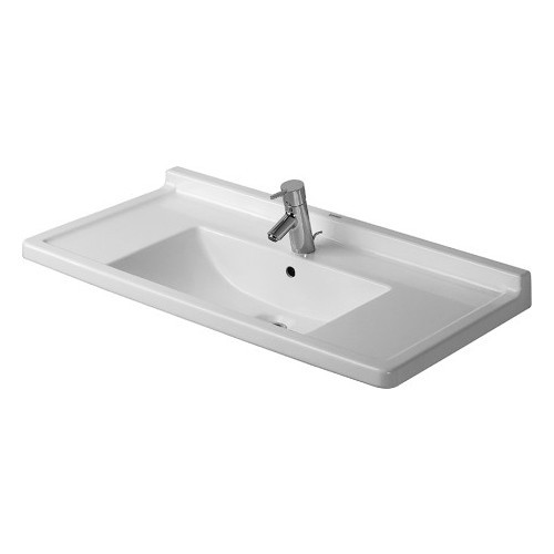 Duravit 03048000001 Starck Wall Mount Ceramic Bathroom Sink White Alpin
