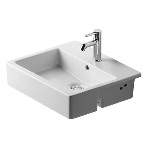 Duravit 03145500001 Starck Drop In Ceramic Bathroom Sink White Alpin