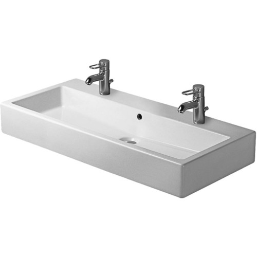 Duravit 04541008001 Vero Vessel Ceramic Bathroom Sink Black